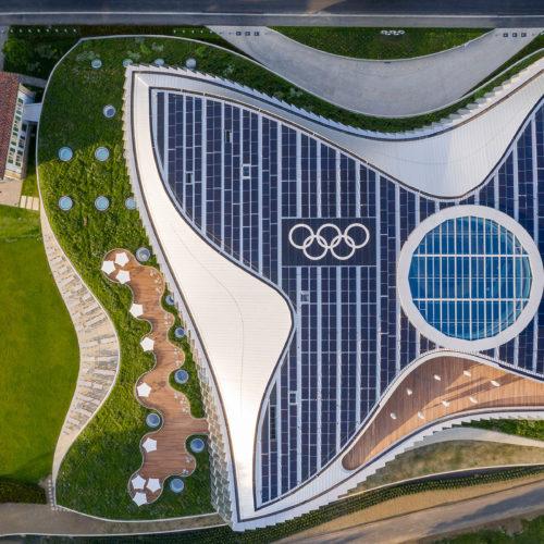 La Maison Olympique devient l'un des bâtiments les plus durables du monde