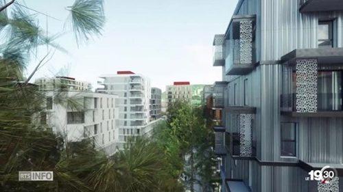À Genève, 35'000 nouveaux logements seront construits d'ici à 2030. Exemple avec le quartier de l'Etang.