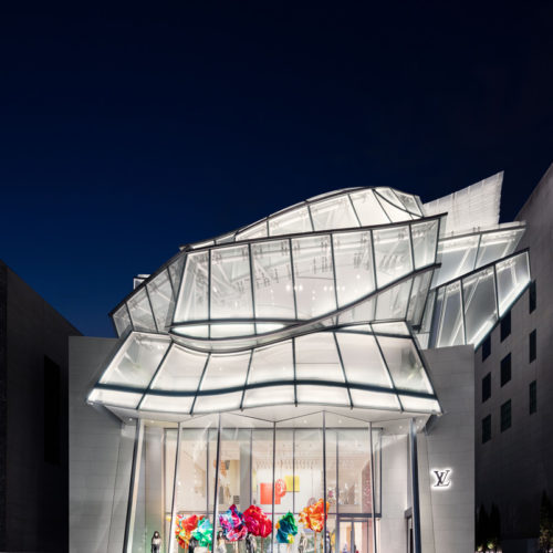 Frank Gehry and Peter Marino Design the Louis Vuitton Maison Seoul