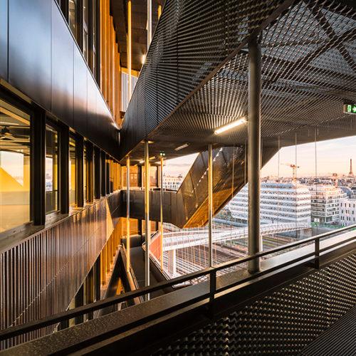 Travailler dans l'immeuble Java de Chartier-Dalix / Brénac & Gonzalez