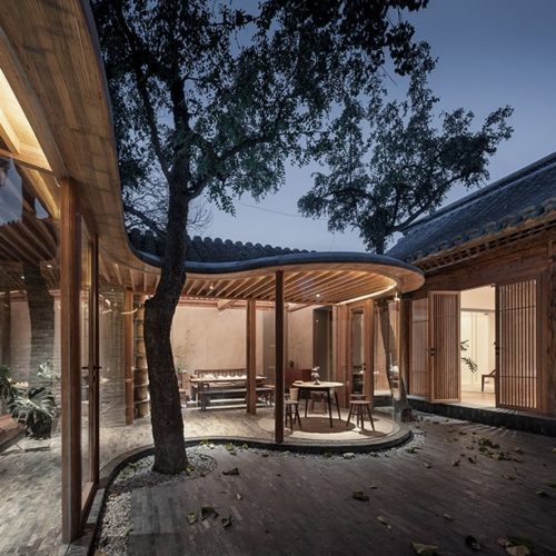 Archstudio fuses old with new to renovate a traditional siheyuan residence in Beijing