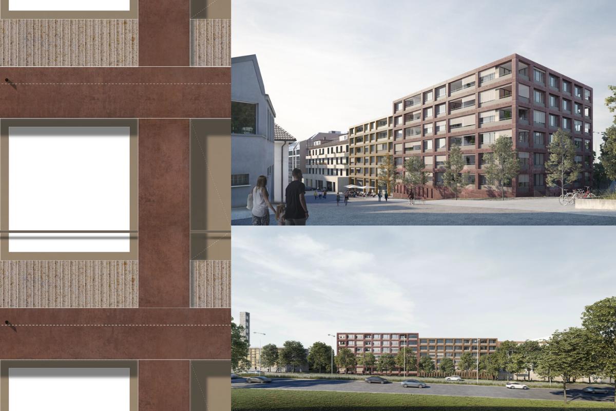EDIFEA intervient en entreprise totale au cœur de Lausanne sur le projet La Colline