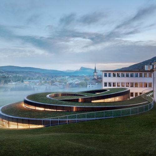 Architecture : Audemars Piguet inaugure son musée conçu par BIG