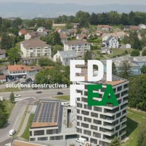 EDIFEA retrace pour vous la réalisation du projet Grand Chemin à Épalinges