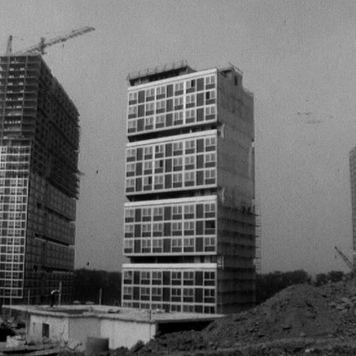 Archive RTS : construction du Lignon, une nouvelle cité aux lignes futuristes