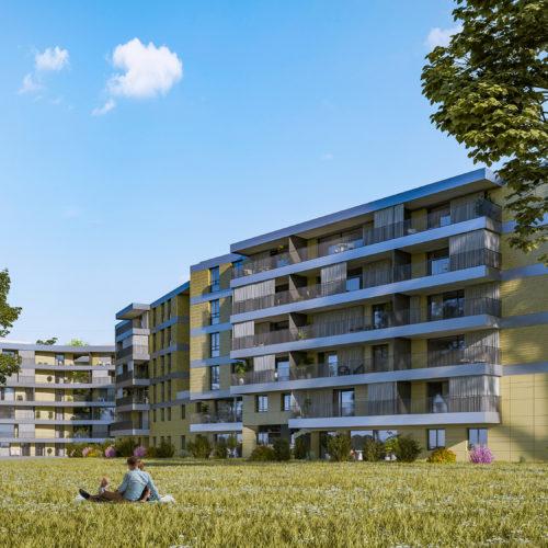 Edifea construit Les Allières, un élégant programme de logements au cœur de Genève