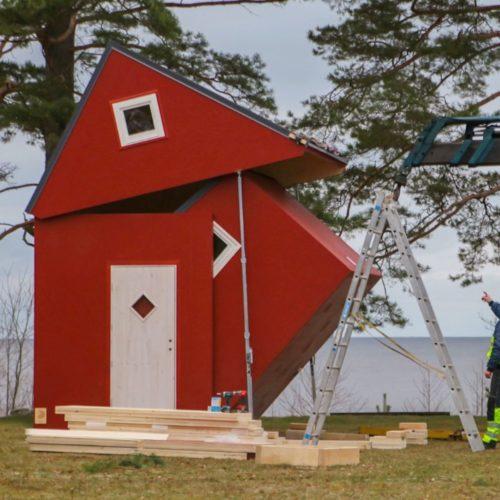 Ce fabricant développe des maisons pliables qui s'installent en un clin d'œil