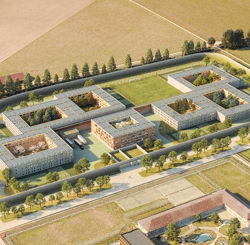 Le projet architectural retenu pour la future prison des Grands-Marais, à Orbe, a été dévoilé