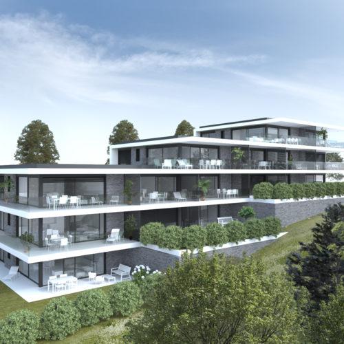 Nouveau mandat EDIFEA : un immeuble HPE à Anières